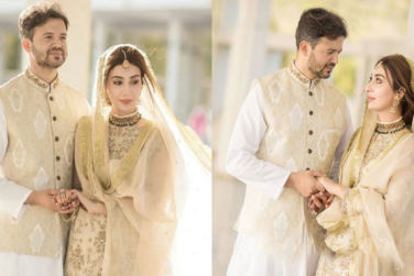 Aisha Khan`s First Wedding Anniversary Celebrations!