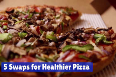 How To Make A Healthier Pizza!