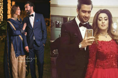 Iman Aly with Husband at Sister`s Wedding!