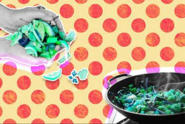 Art of Reusing Food!