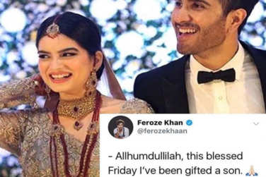 Feroze Khan Blessed with Baby Boy!