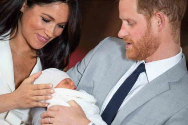 Meghan and Prince Harry Name Their Son Archie!