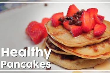 Healthy Pancakes-Perfect Breakfast Recipe!