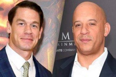 Vin Diesel And John Cena Share Intense Scene!