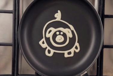 Kitchen Hacks- How to Make Pancake Art!