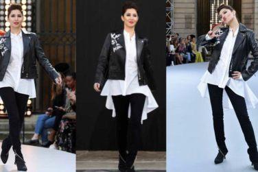 Mahira Khan Walks The Ramp At Paris Fashion Week!