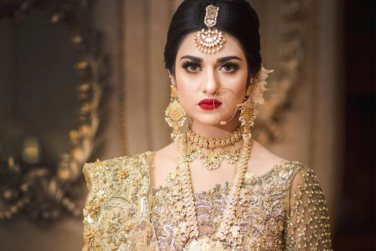 Beautiful Sarah Khan`s Latest Bridal Photo Shoot!
