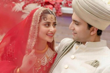 Sajal And Ahad Tied The Knot In Abu Dhabi!