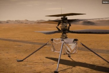 Nasa`s Mars Helicopter Gets A New Name!