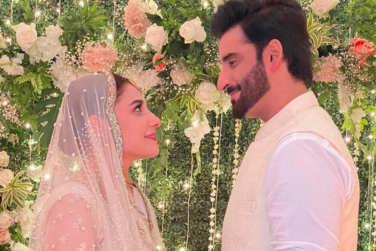 Hina Altaf and Agha Ali Got Married!
