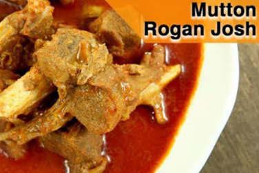 Mutton Rogan Josh Kashmiri Style Recipe!