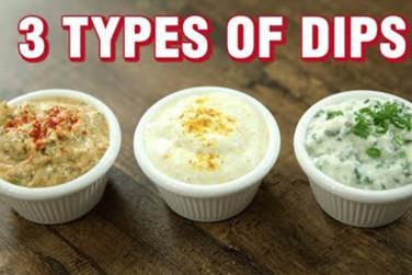 3 Types of Dips - Easy Dips Recipe!