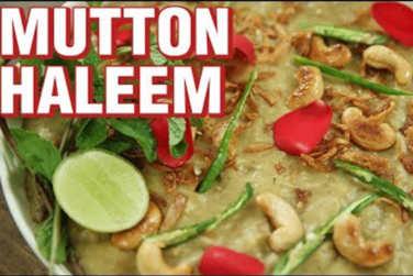 How To Make Hyderabadi Mutton Haleem!