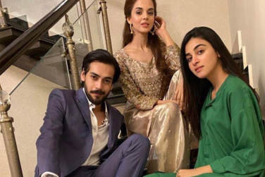 Anmol Baloch Latest Clicks From The Set Of Qurbatain!
