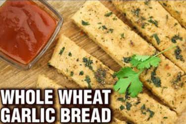 Whole Wheat Garlic Bread Recipe!